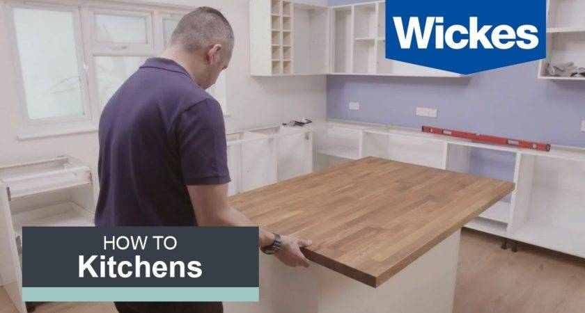 Build Kitchen Island Wickes Youtube