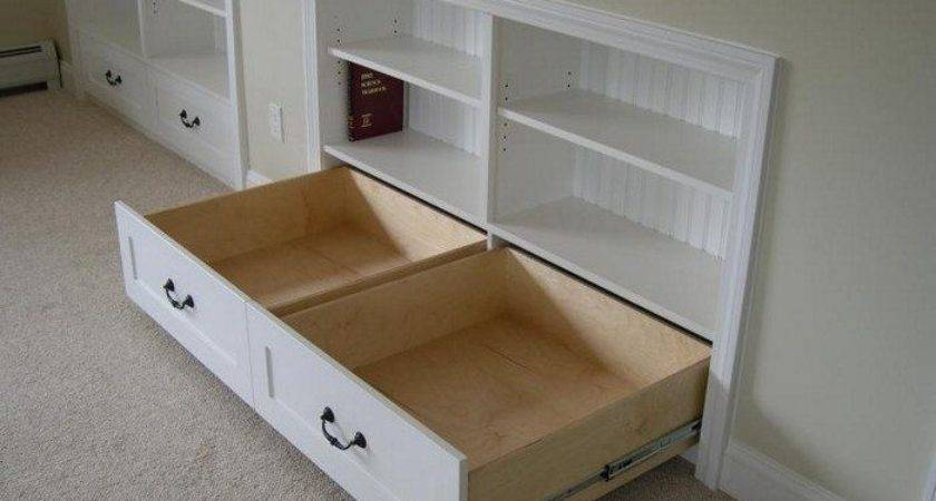 Build Knee Wall Storage Dresser Diy Projects