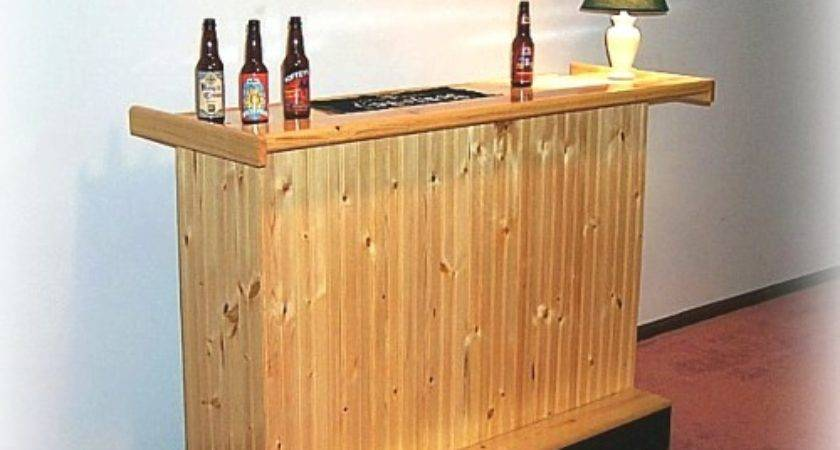 Build Your Own Small Bar Plans