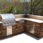 Built Bbq Grills Outdoor Kitchen Building Design