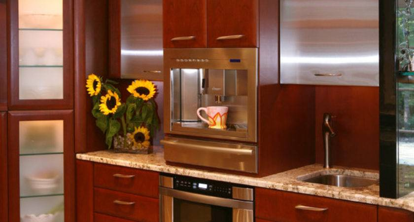 Built Coffee Maker Home Design Ideas Remodel