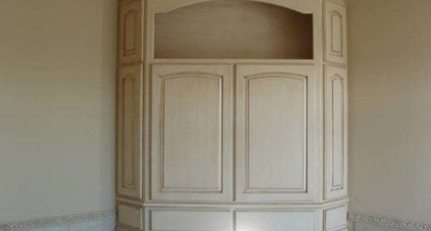 Built Corner Bathroom Cabinet