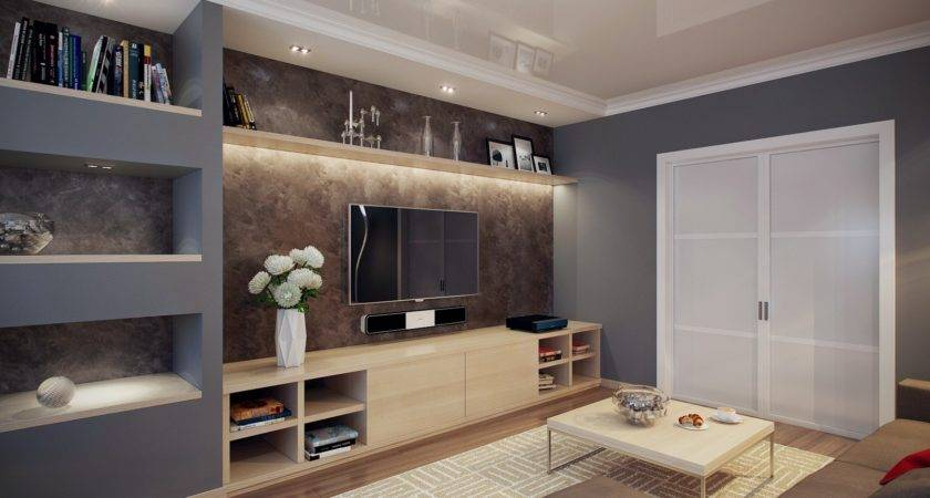 Built Shelving Interior Design Ideas