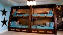Bunk Beds Four Space Saving Solution Shared