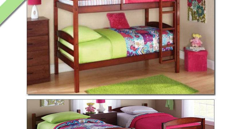 Bunk Beds Twin Over Girls Boys Kids Bunkbeds
