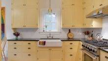 Butter Yellow Cabinets Home Design Ideas