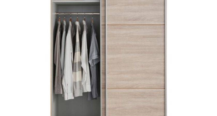Buy Hygena Bergen Door Small Sliding Wardrobe Oak
