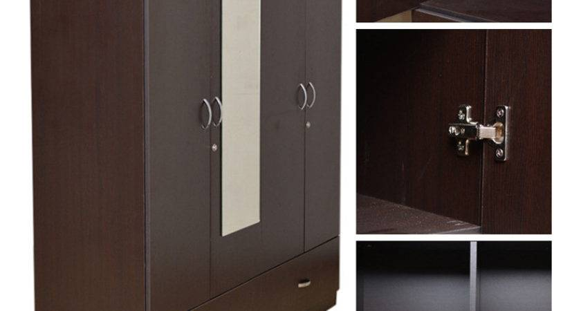 Buy Utsav Four Door Wardrobe Mirror Hometown