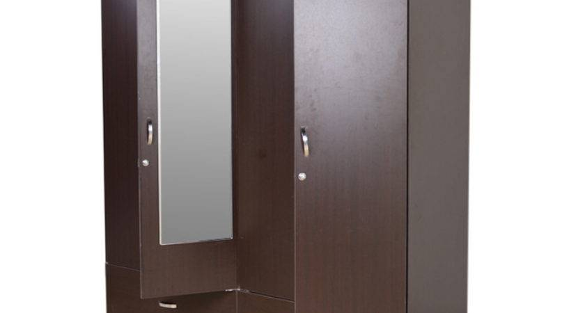 Buy Utsav Four Door Wardrobe Mirror Wenge