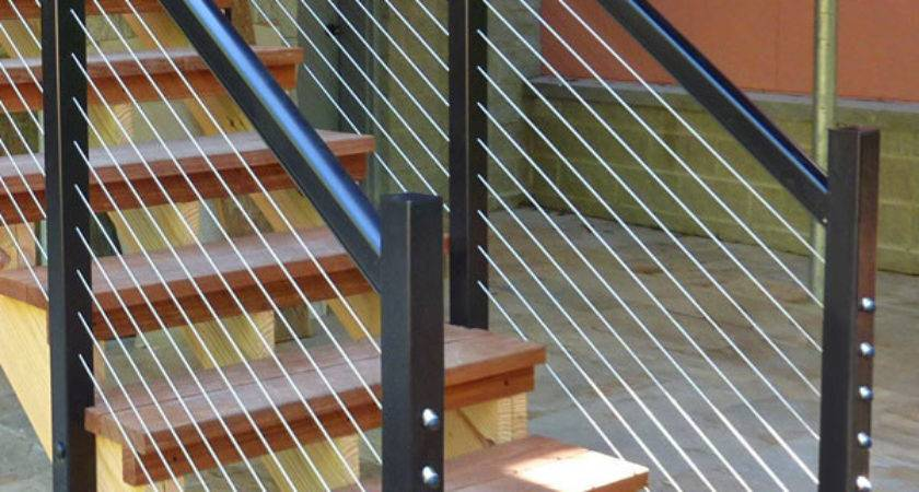 Cable Rail Stairs Joy Studio Design Best