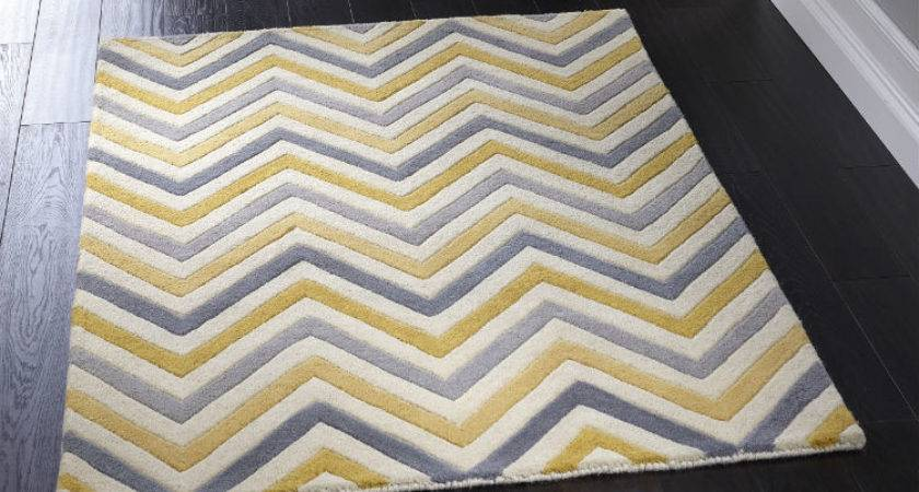 Cabone Yellow Grey Rugs Buy