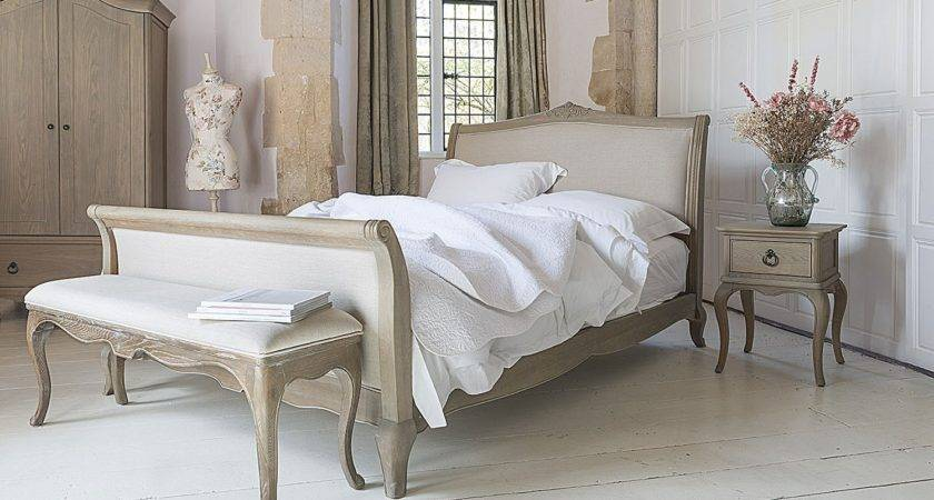 Camille French Style Upholstered Bed Crown Furniture