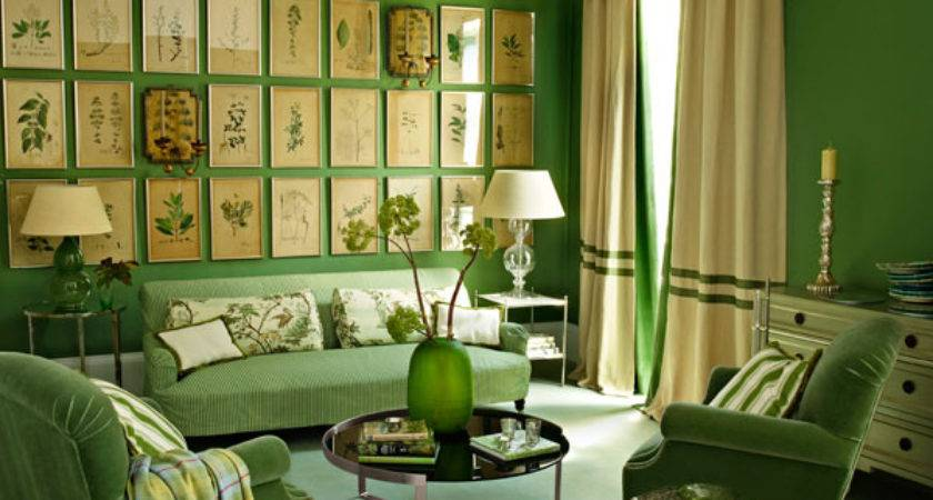 Can Choose Green Color Living Room