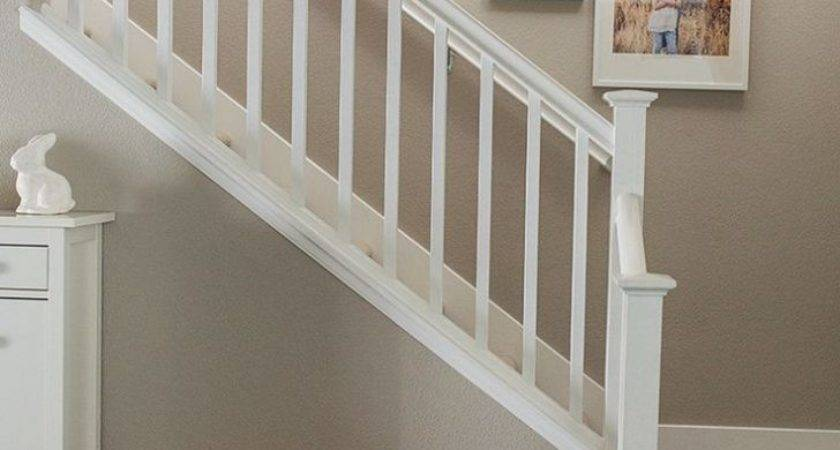Can Set Removable Stair Railing Home