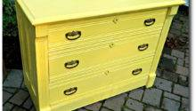 Canary Mustard Yellow Painted Furniture