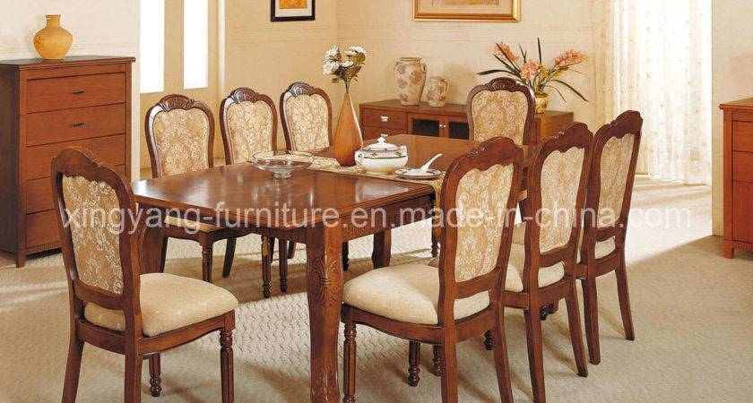 Chairs Dining Room Table Grasscloth