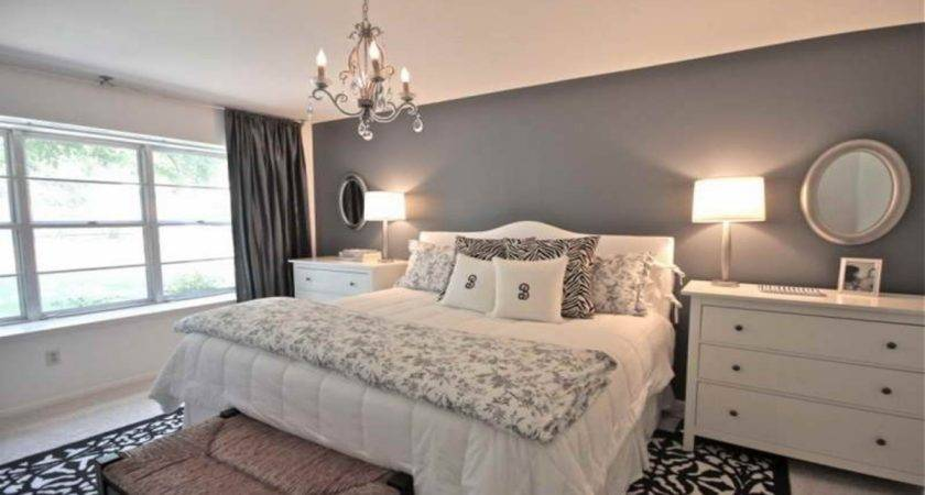 Chandeliers Bedrooms Ideas Grey Bedroom Walls
