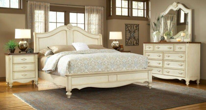 Chateau French Country Sleigh Bedroom Set Dcg Stores