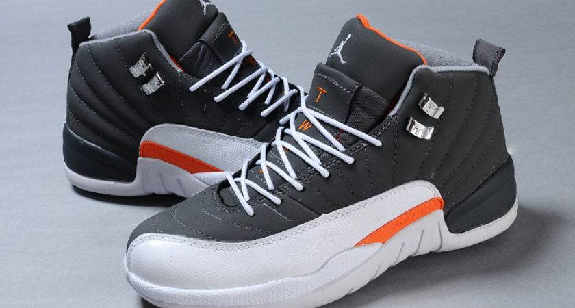 Cheap Air Jordan Retro Cool Grey White Team Orange Sale