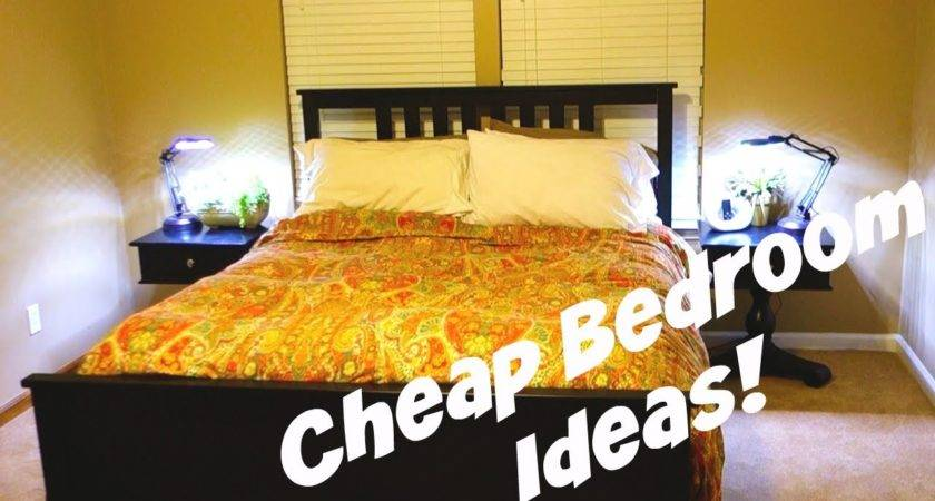 Home Vlog Ideas: Cheap Bedroom Decorating Ideas Daily Vlog Youtube