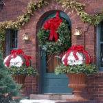 Cheap Outdoor Christmas Decorations Wall Decal