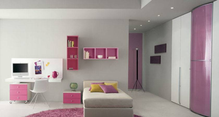 Cheap Pink White Bedroom