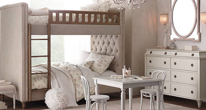 Chesterfield Upholstered Bunk Bed Collection Restoration