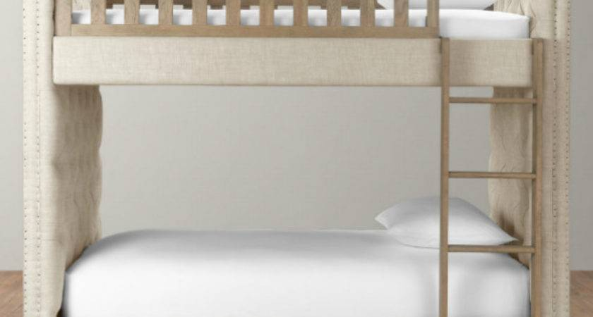 Chesterfield Upholstered Bunk Bed Cool Cribs