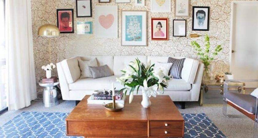 Chic Friendly Living Rooms Marble Buzz