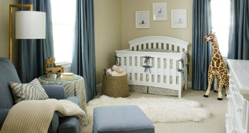 Chic Sophisticated Boy Nursery Project