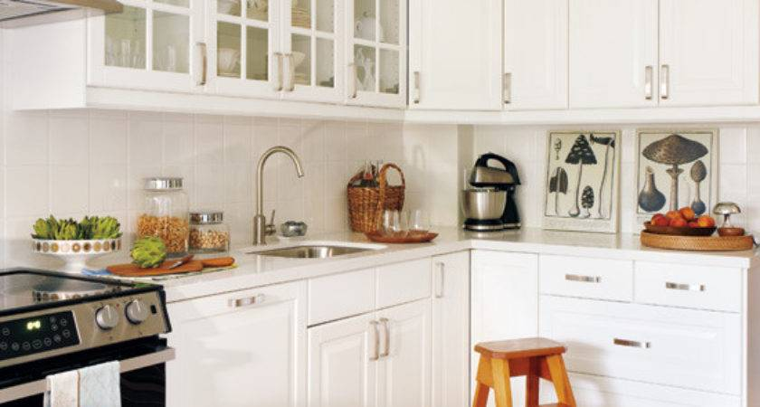 Chic White Kitchens