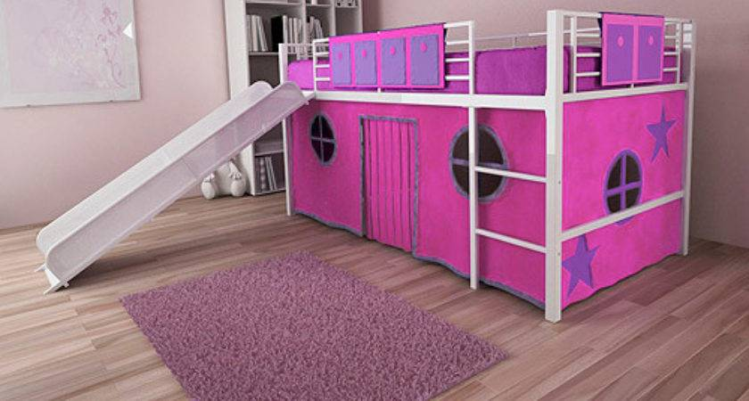 Childrens Beds Desk Slide Home Decorating Ideas