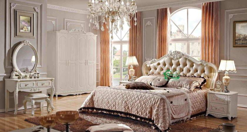China Bedroom Furniture Inch Classic Wood Bed