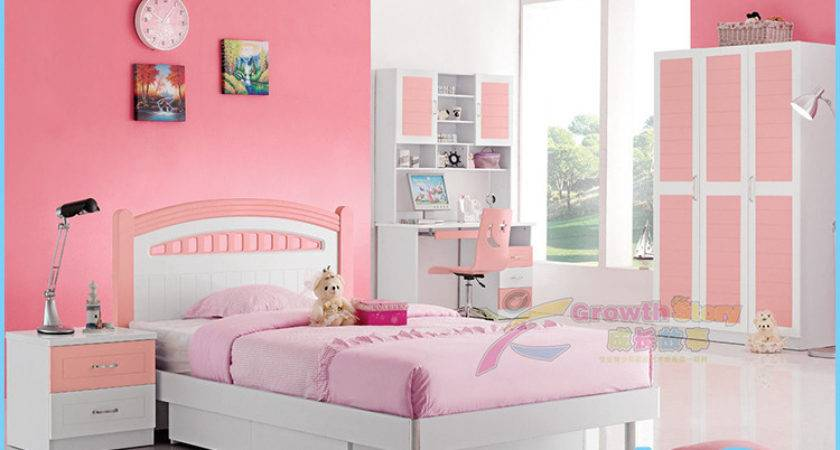 China Modern Lovely Kids Bedroom Furniture Girls