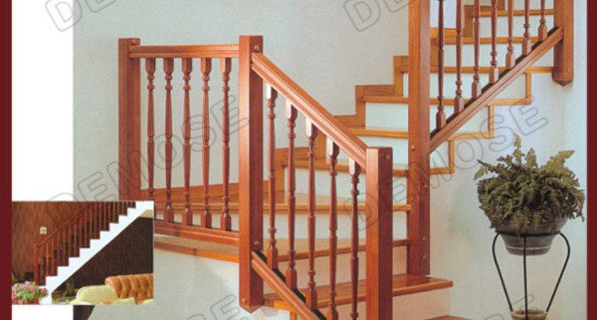 China Simple Shaped Wood Stairs Design Dms