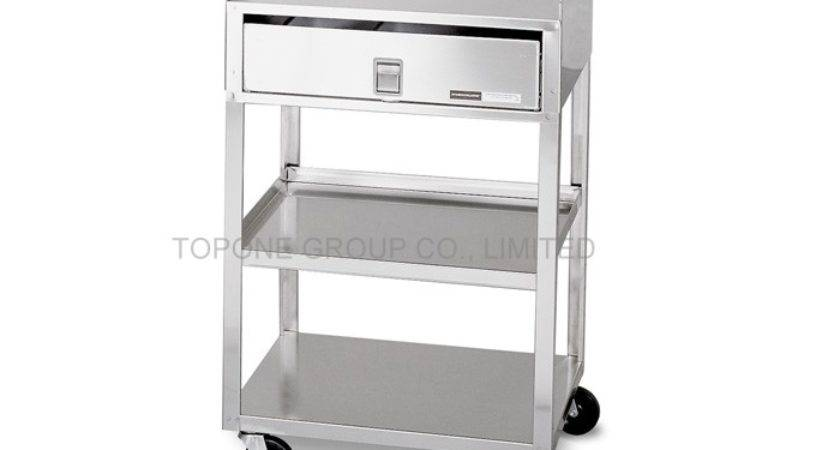 China Stainless Steel Cart Trolley Drawers