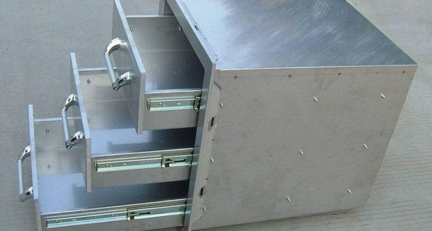 China Stainless Steel Drawer Cabinet Kitchen