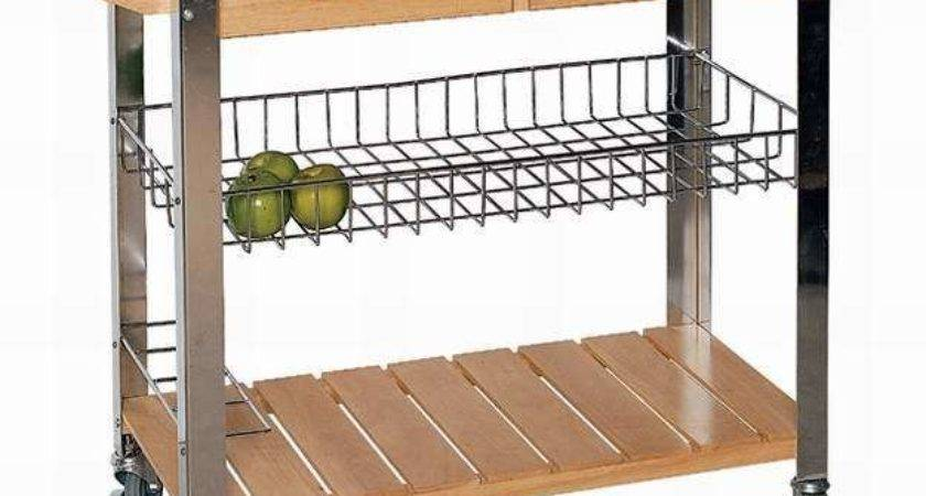 China Wooden Kitchen Trolley