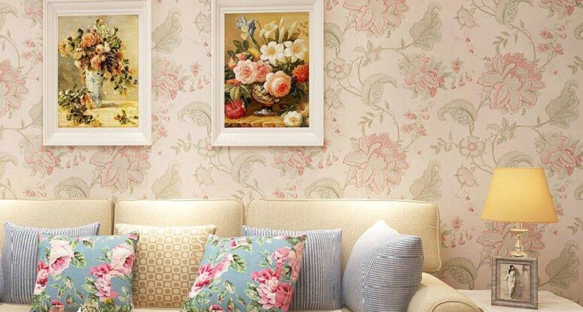 Chinese Vintage Floral Classic Room