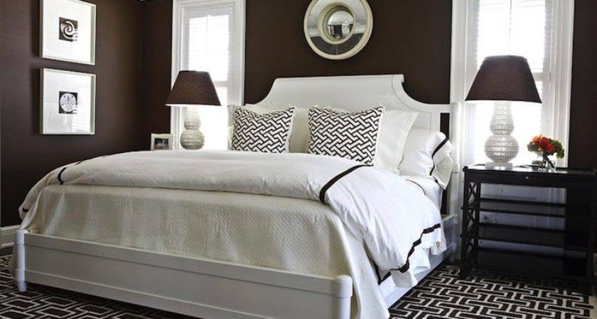 Chocolate Brown Bedroom Walls Home Decorating Ideas