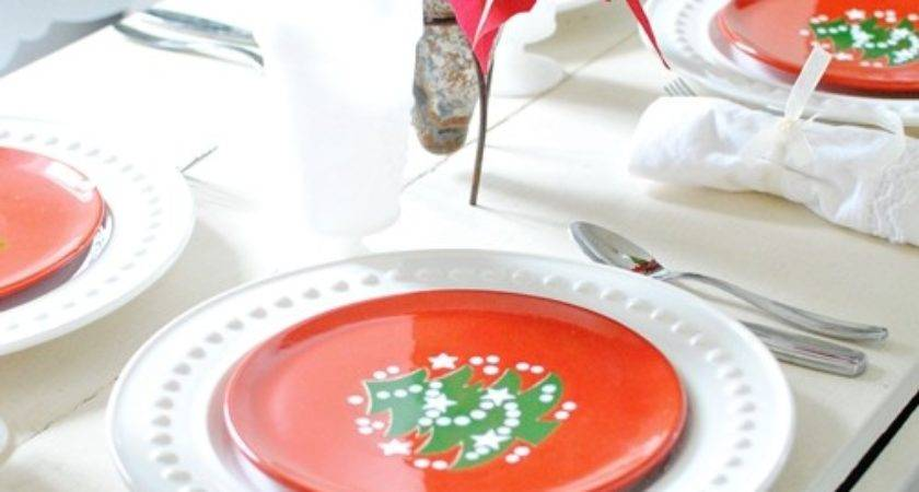 Christmas Brunch Table Setting Town Country Living
