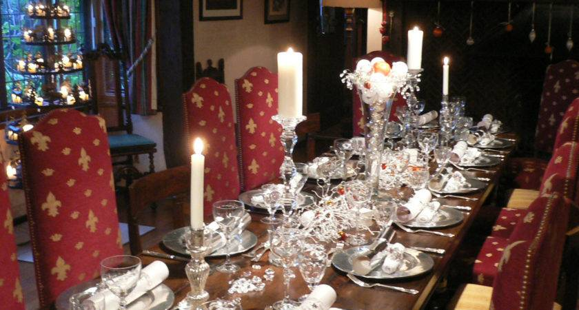 Christmas Decorating Services Table Setting