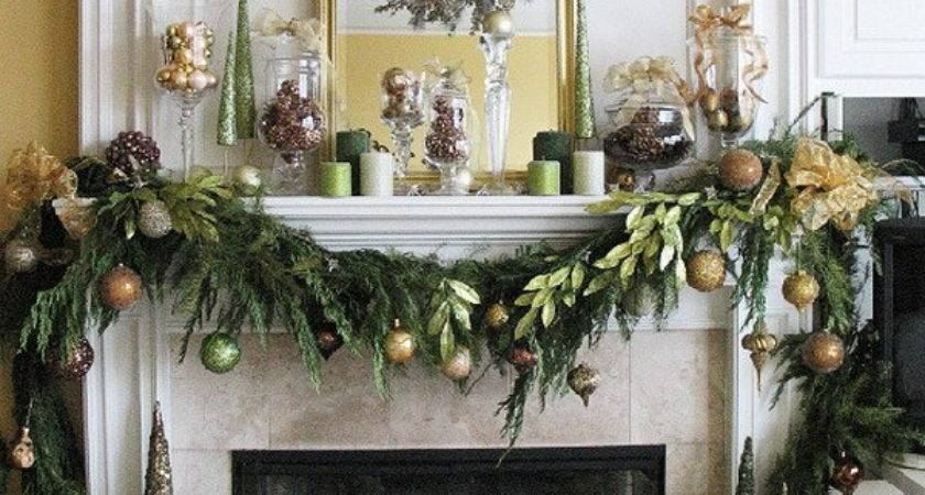 Christmas Decoration Ideas Fireplace Home