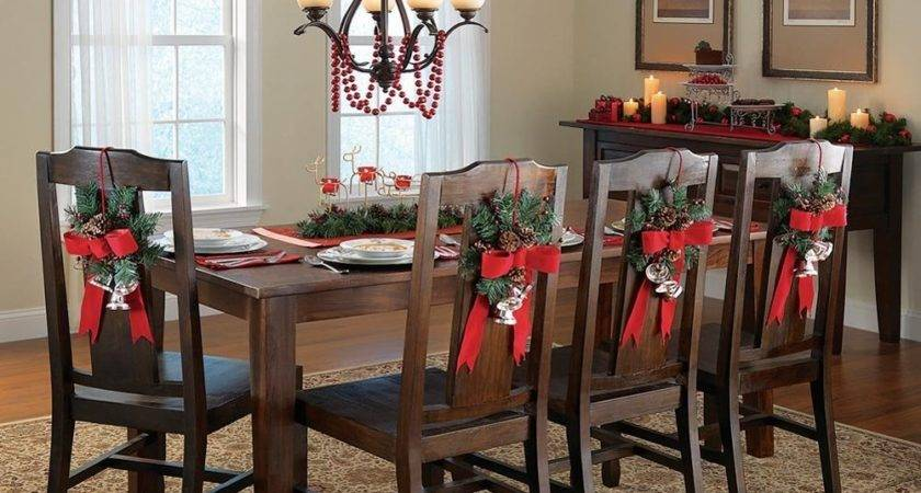 Christmas Decorations Dining Chairs Billingsblessingbags