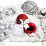 Christmas Red Silver Decorations