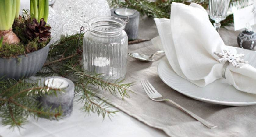 Christmas Table Setting Masa Zeni Usta Remez