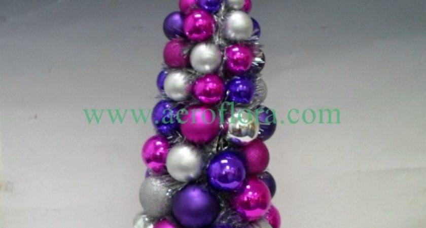 Christmas Tree Artificial Flowers
