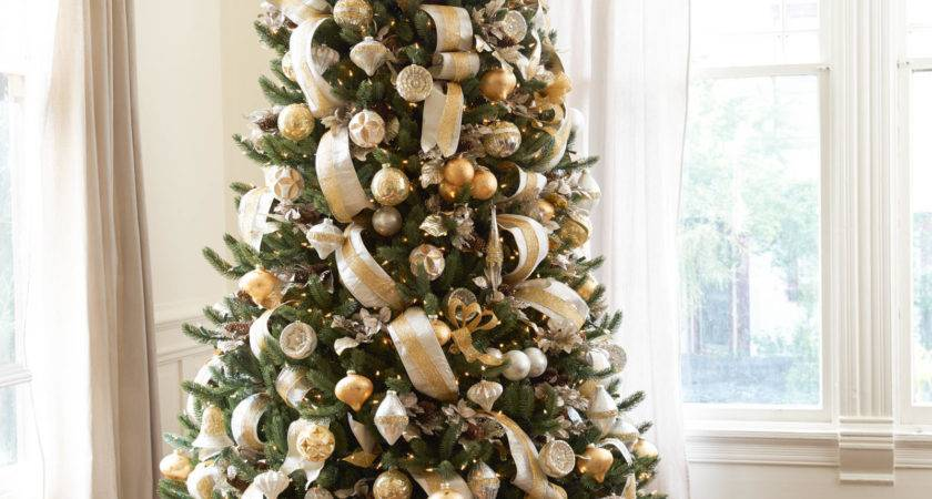 Christmas Tree Decorations Gold Silver