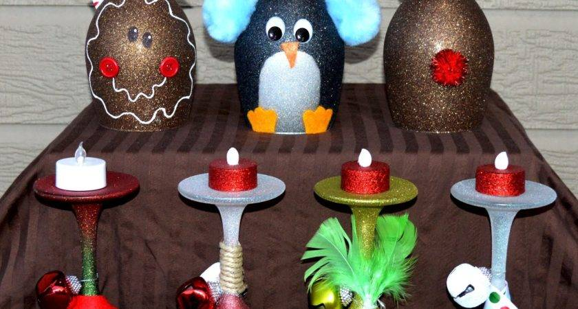 Christmas Wine Glasses Candle Holders Expanded Line