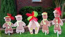 Christmas Yard Decor Gingerbread Man
